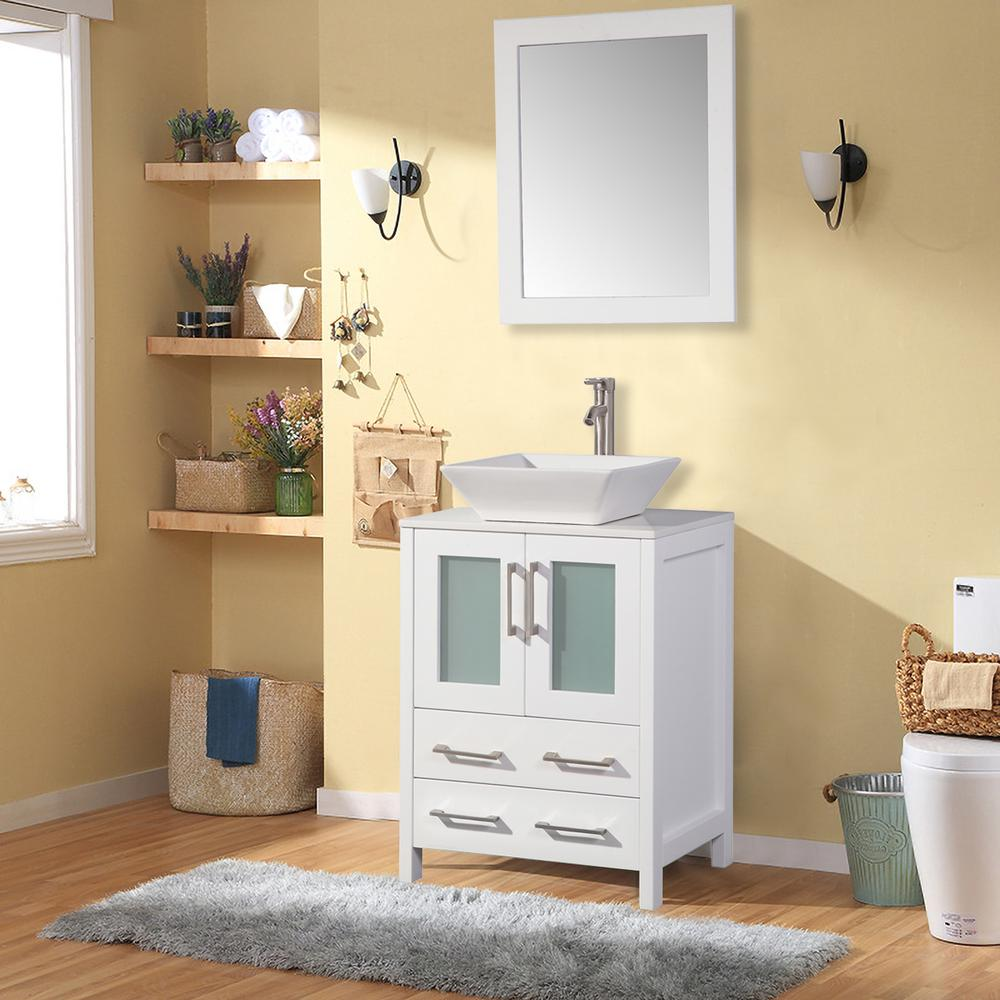 Vanity Bathroom Set With Mirror Image