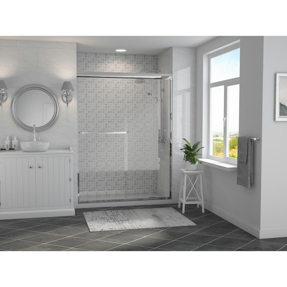Coastal Shower Doors Paragon 3 16 B Series 60 In X 65 In