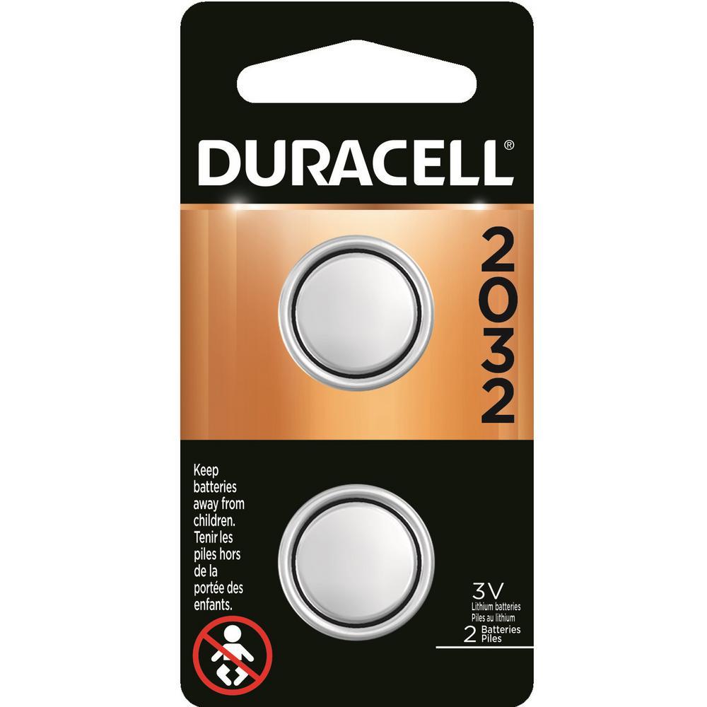 Size 2032 3-Volt Lithium Battery (4-Pack)