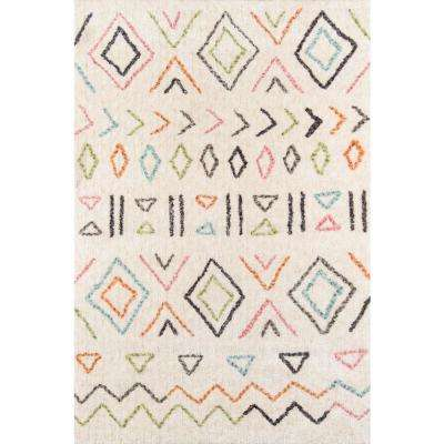 Bungalow Wes Ivory 9 ft. X 12 ft. Indoor Area Rug