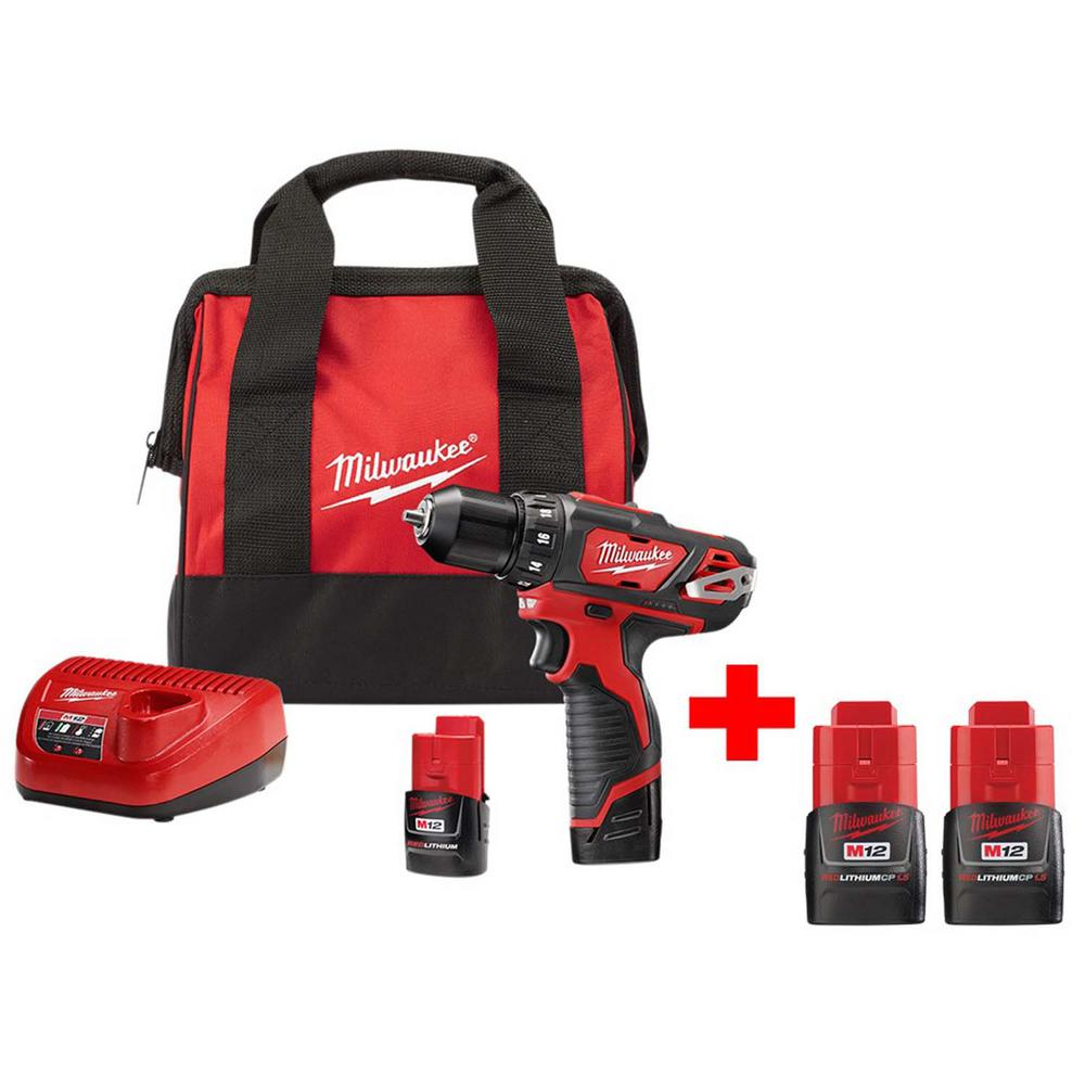 Free Furniture In Milwaukee: Milwaukee M12 12-Volt Lithium-Ion Cordless 3/8 In. Drill