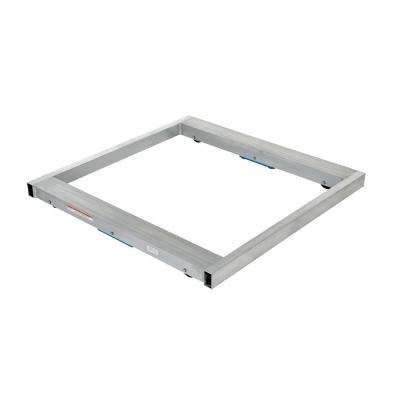 6,000 lb. Capacity 48 in. x 48 in. Aluminum Pallet Dolly