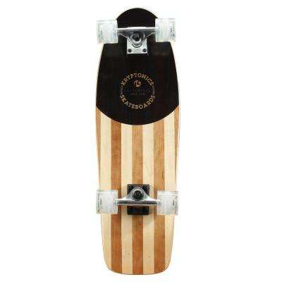 28 in. Boss-In Lay Cruiser Complete Skateboard