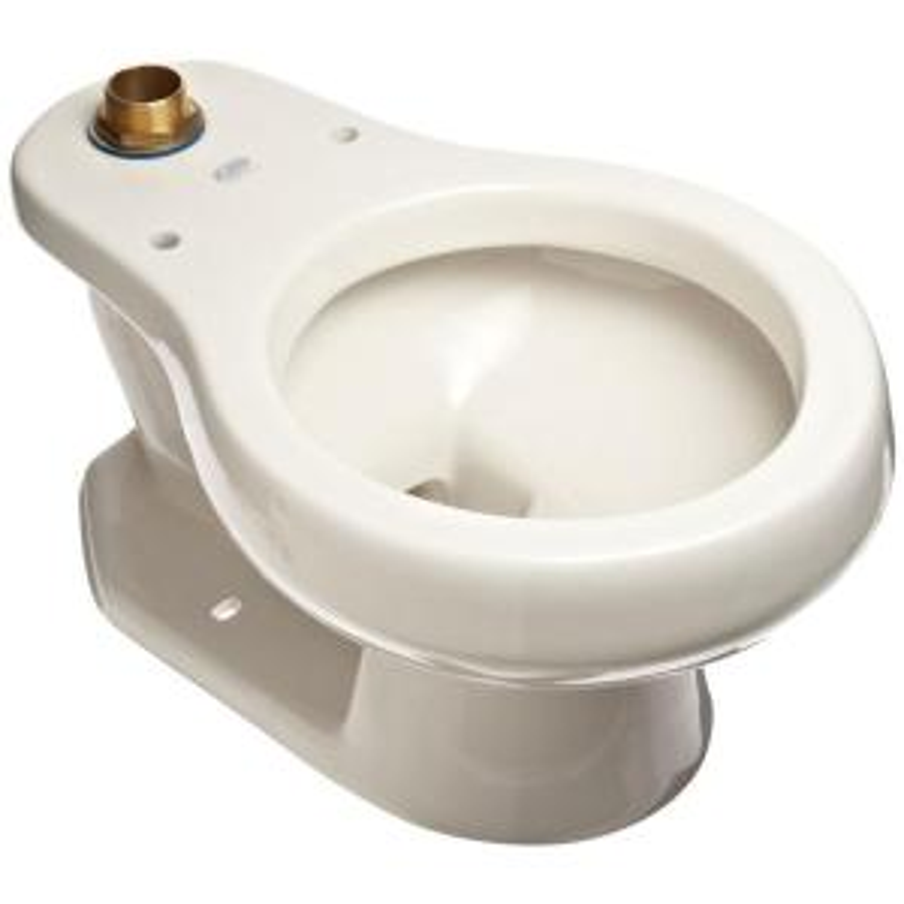Zurn Children's Elongated Toilet Bowl Only in White by Zurn