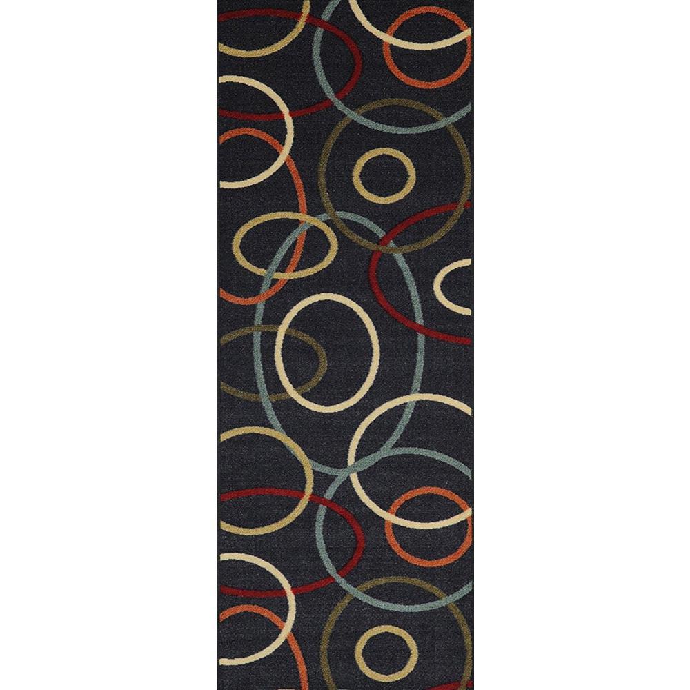 Hamam Collection Multi 3 ft. x 10 ft. Runner Rug