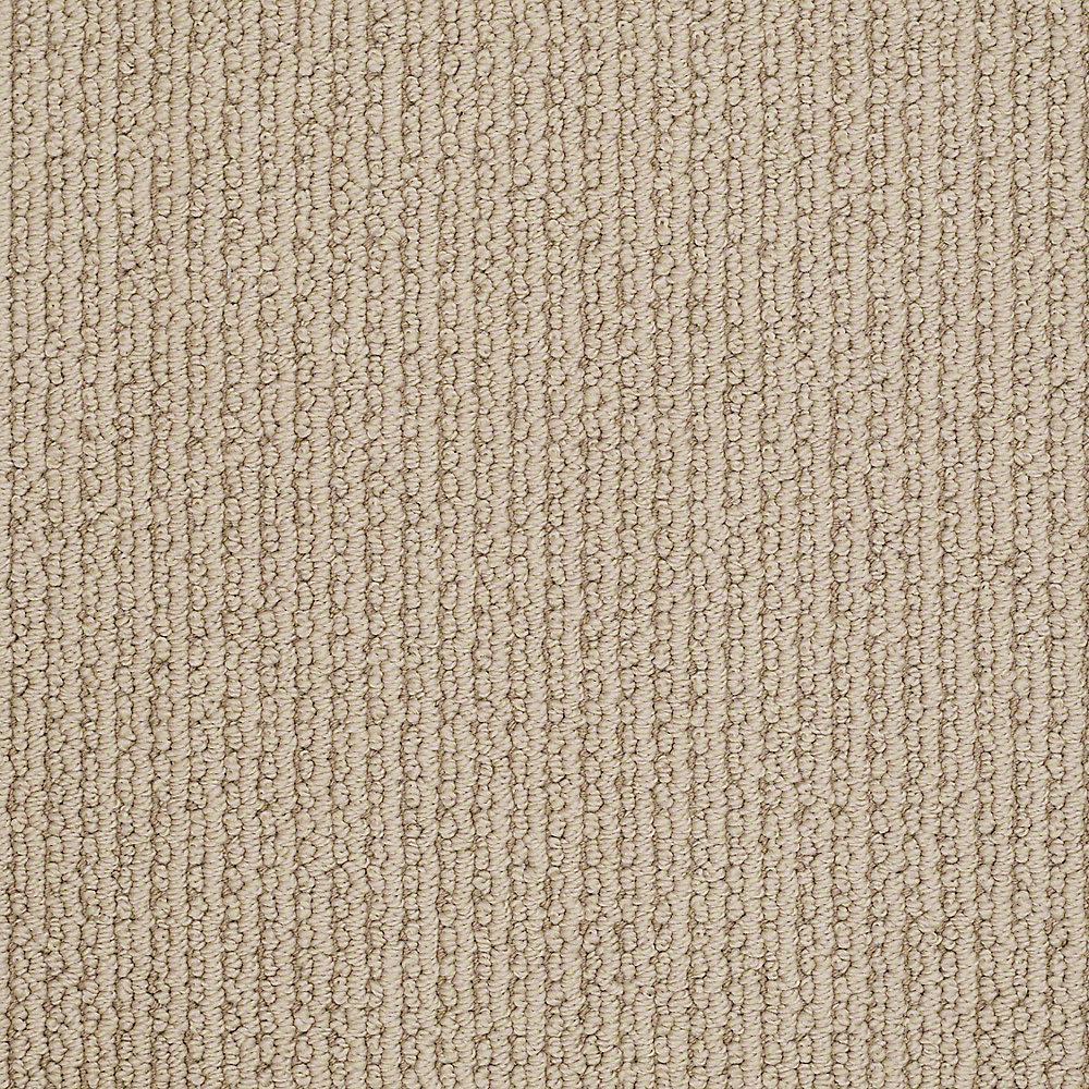 Carpet Sample - Broadway - In Color Antelope Pattern 8 in. x 8 in.