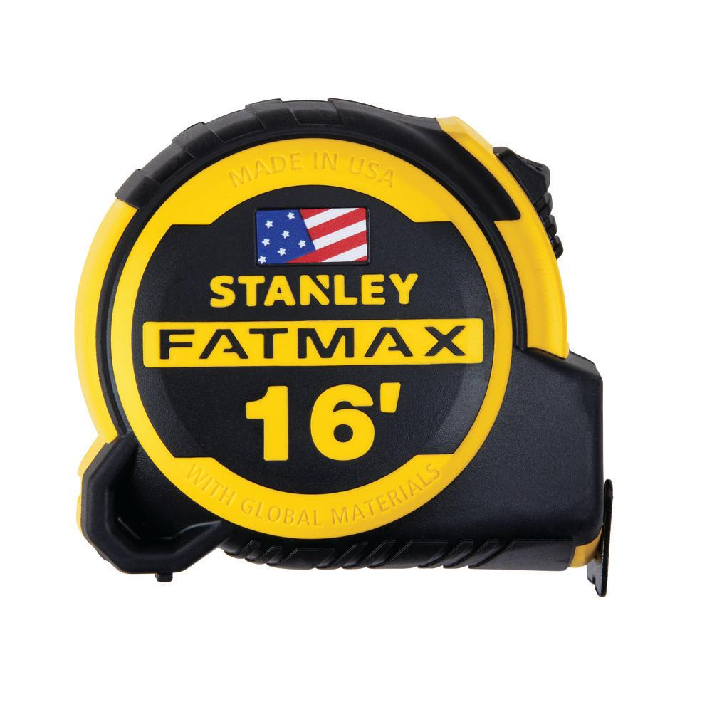 Stanley FATMAX 2 Pack 25/' Locking SAE Tape Measures w Blade Armor USA Made *NEW*
