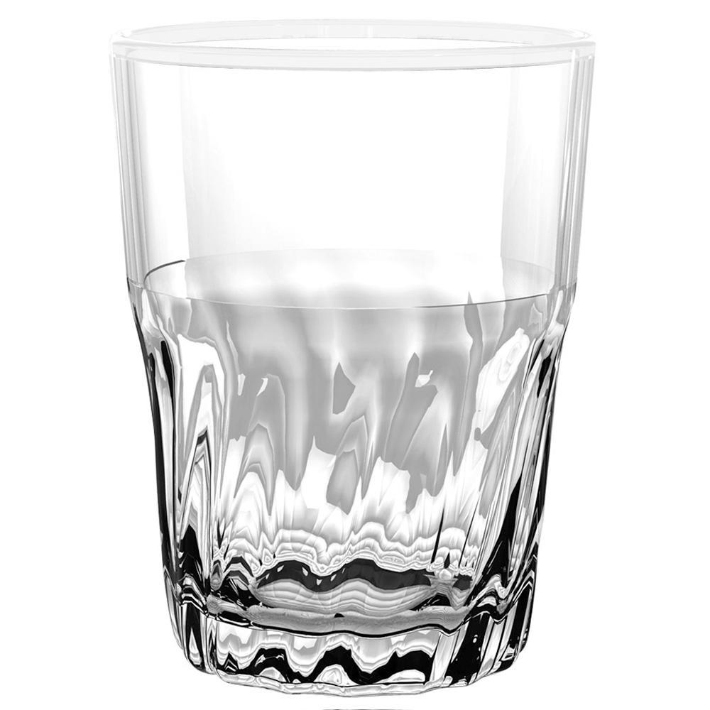 Cantina White DOF Glass (Set of 6)