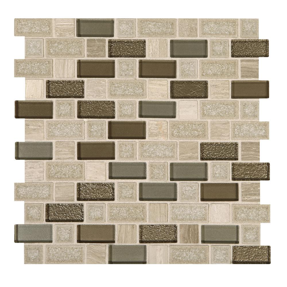 - Marazzi Developed By Nature Chenille 12 In. X 12 In. X 8 Mm Stone