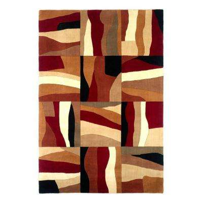 Earth Patchwork Sienna 5 ft. x 8 ft. Area Rug