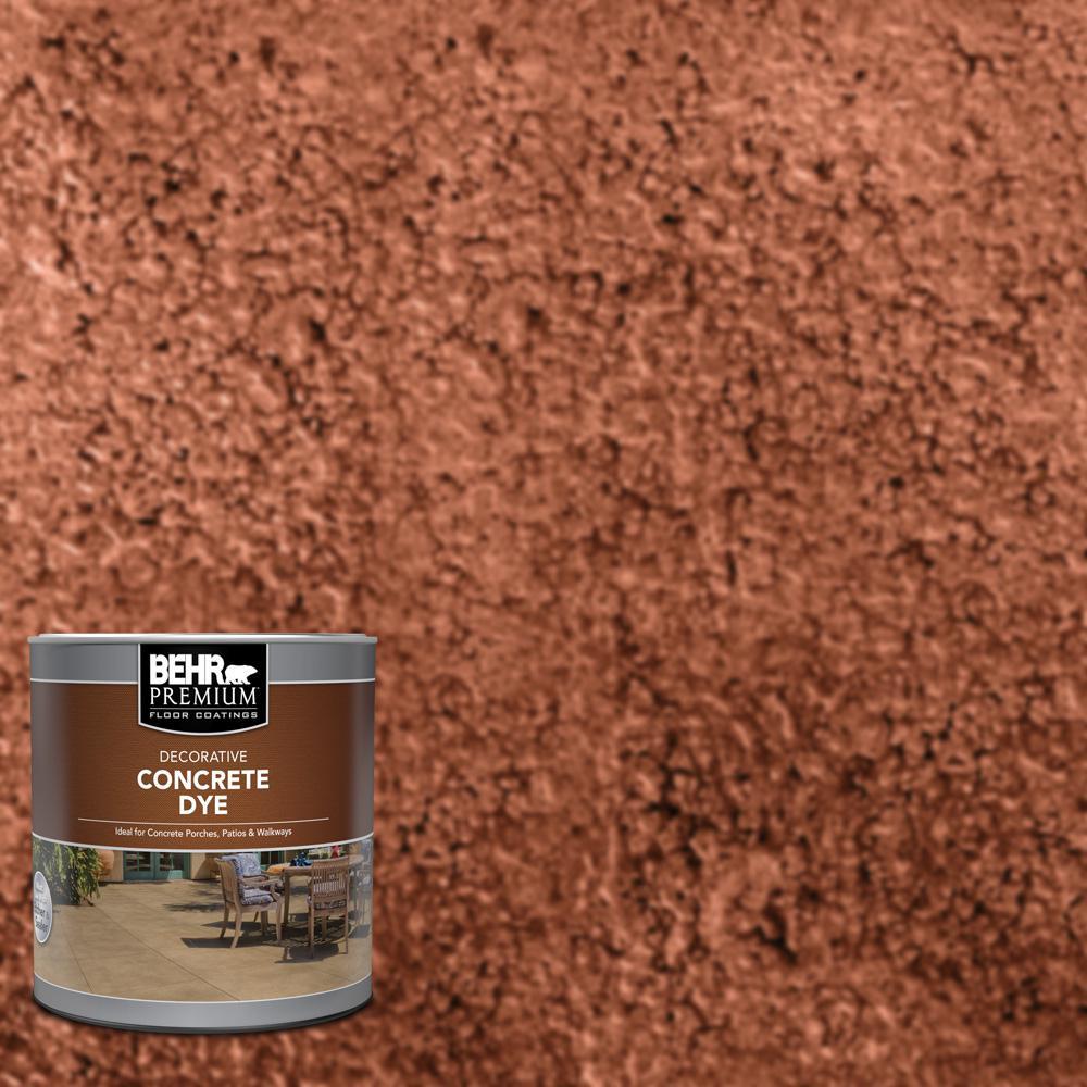 BEHR Premium 1 qt. #CD-803 Cajun Rose Interior/Exterior Concrete Dye