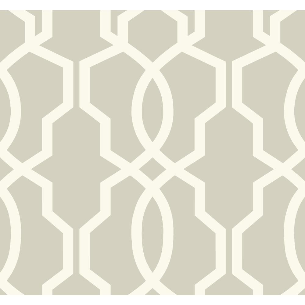 Ashford Geometrics Hourglass Trellis Strippable Wallpaper (Covers 60.75 sq. ft.)