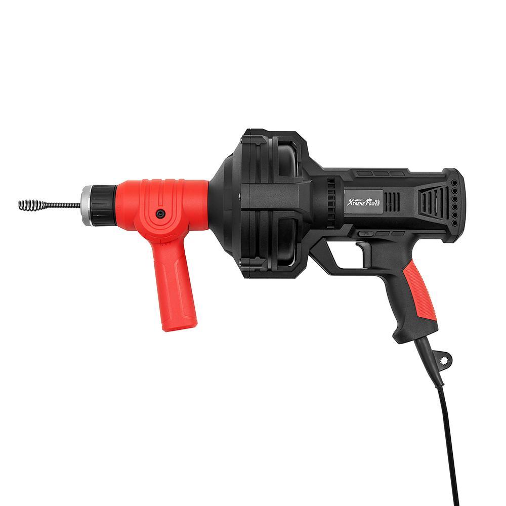 110-Volt 25 ft. Portable Handheld Plumbing Snake Auger Drainer Dredger Cleaner