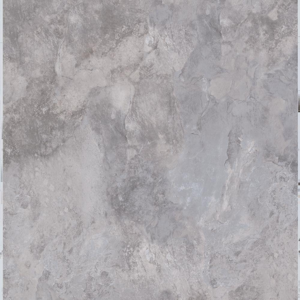 Trafficmaster Ash 12 In X L And Stick Blended Slate Vinyl Tile