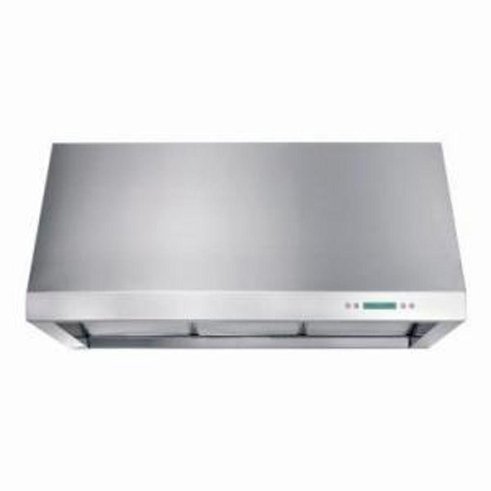 Arietta Lazio 36 in. Wall Mounted Pro-Style Range Hood in Stainless Steel