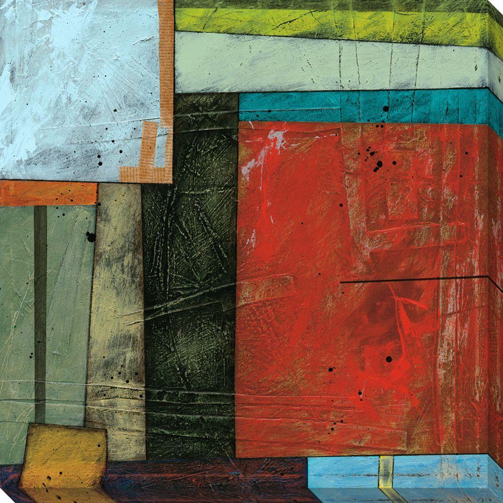 NEP Art 40 in. x 40 in. Spring Design II Oversized Canvas Gallery Wrap
