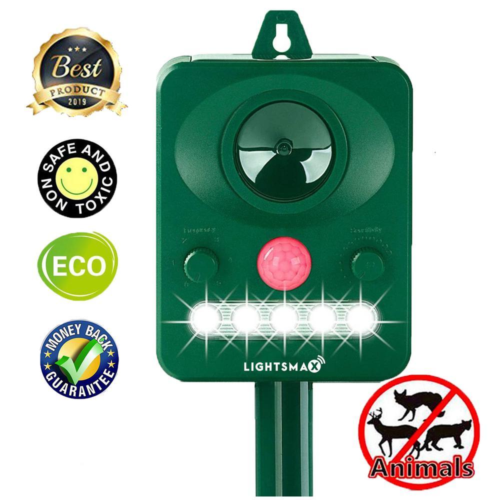 5-Volt Solar Outdoor Animal Bird Rodent Mouse Rat Moles Control Repellent