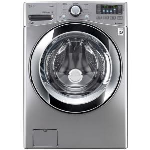 LG Electronics 4.5 cu. ft. High Efficiency Front Load Washer with Steam in... by LG Electronics