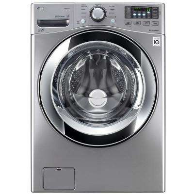 4.5 cu. ft. High Efficiency Front Load Washer with Steam in Graphite Steel, ENERGY STAR