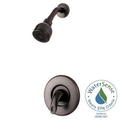 Serrano 1-Handle Shower Faucet Trim Kit in Tuscan Bronze (Valve Not Included)