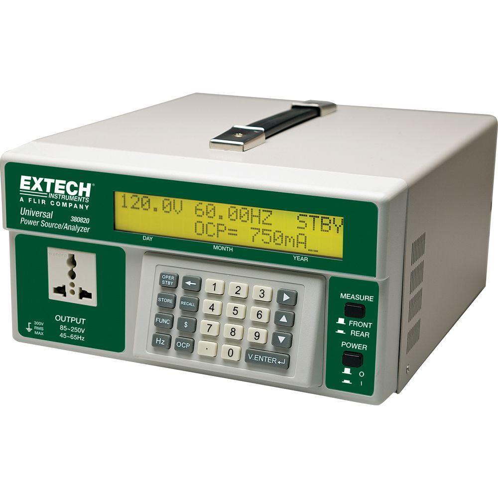 Universal AC Power Source and AC Power Analyzer