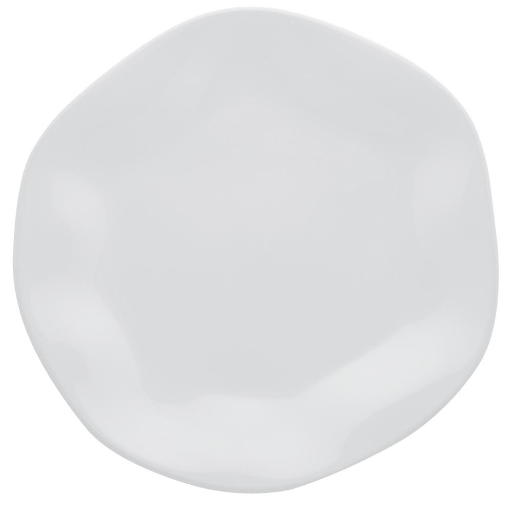 Manhattan Comfort 11.02 in. RYO White Dinner Plates (Set of 6) was $99.99 now $59.3 (41.0% off)