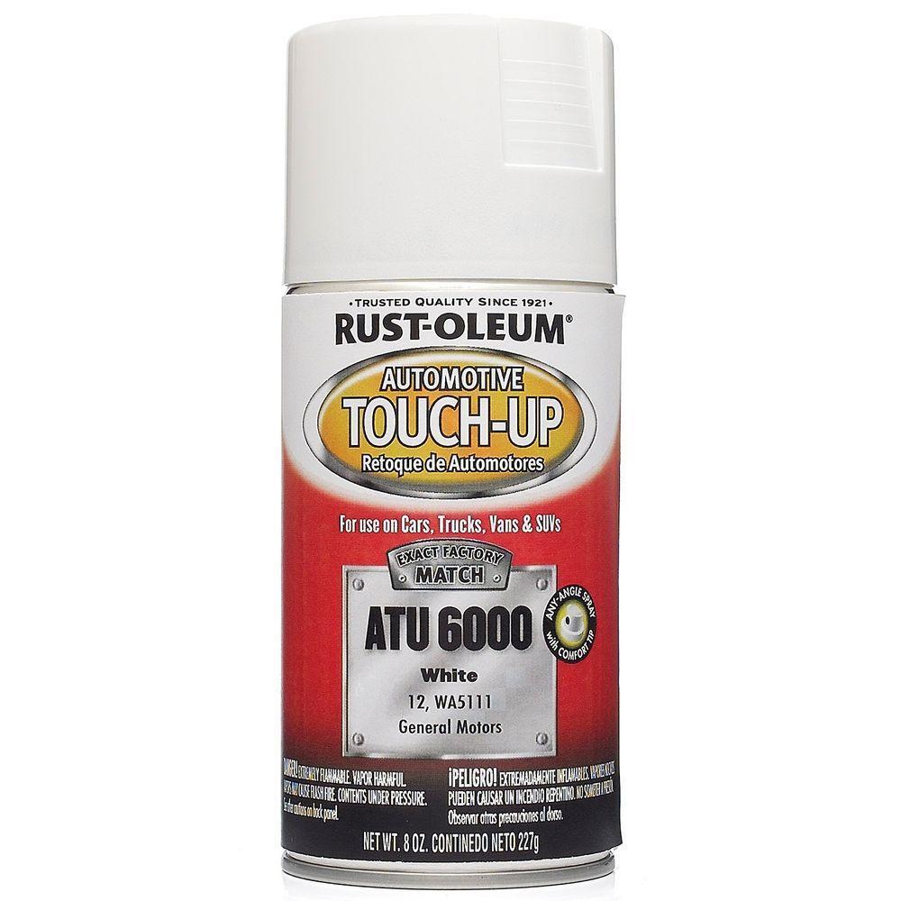 Rust-Oleum Automotive 8 oz. White Auto Touch-Up Spray (6-Pack)