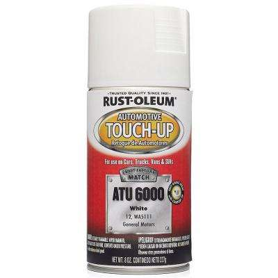 8 oz. White Auto Touch-Up Spray (6-Pack)