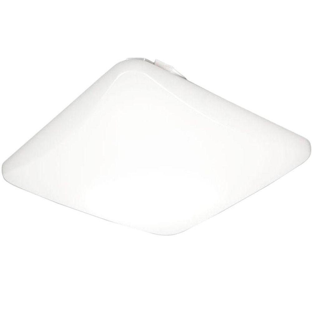 Lithonia Lighting 16 Watt 11 In White Square Low Profile
