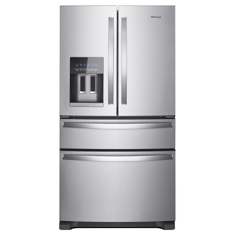 Whirlpool 25 Cu Ft French Door Refrigerator In