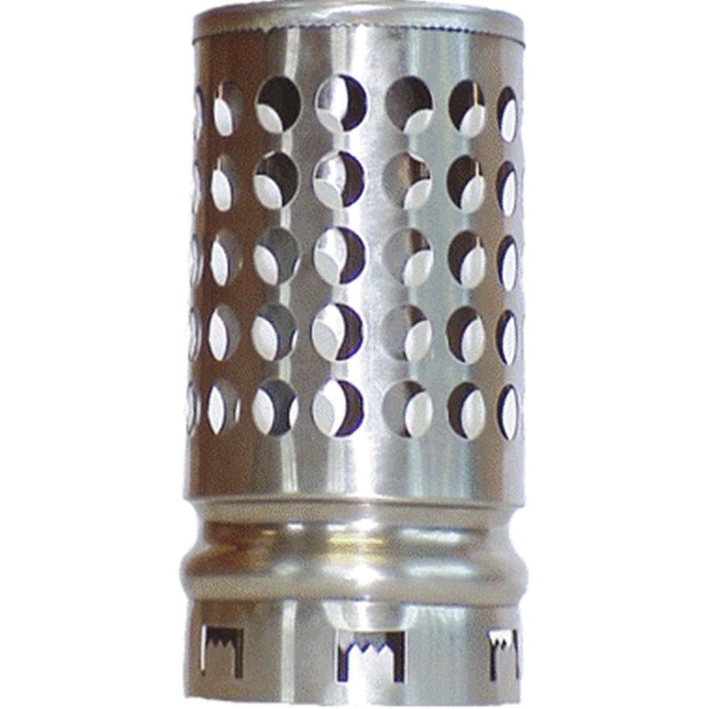 The Forever Cap 4 in. Round Fixed Stainless Steel Plumbing Vent Cap