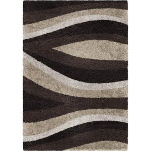 Orian Rugs Flume Black Taupe 1 ft. 11 inch x 3 ft. 3 inch Accent Rug by Orian Rugs