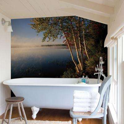 72 in. H x 48 in. W Lake Wall Mural