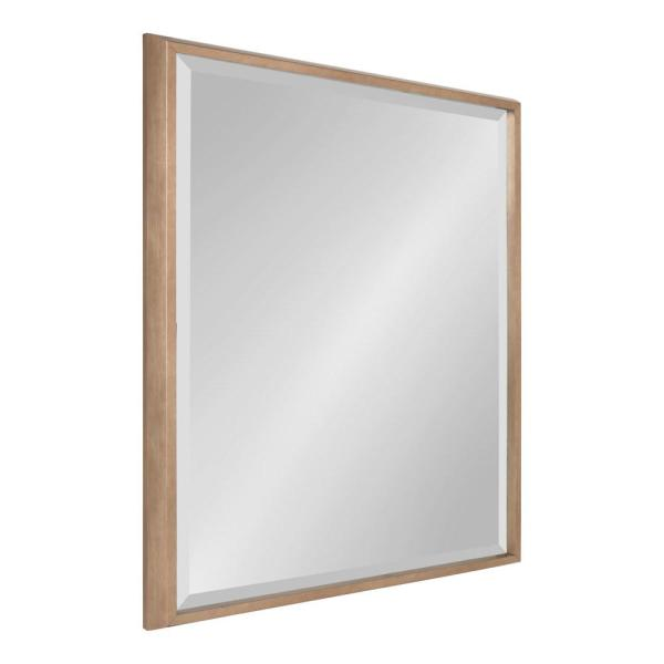 Kate and Laurel Blake Rectangle Gold Wall Mirror 214054