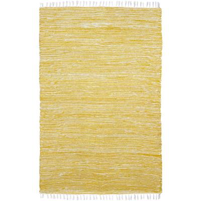Yellow Chenille 5 ft. x 8 ft. Area Rug