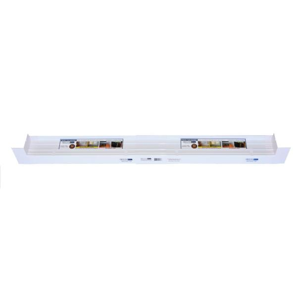3-1/4 in. x 150 in. Sloped Sill Pan for Use on Vinyl Sliding Door and Window Installation and Flashing