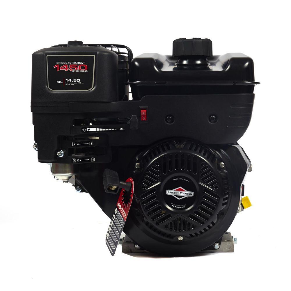 Briggs & Stratton 1450 Series Horizontal Gas Engine-19N132-0051-F1 - The  Home Depot