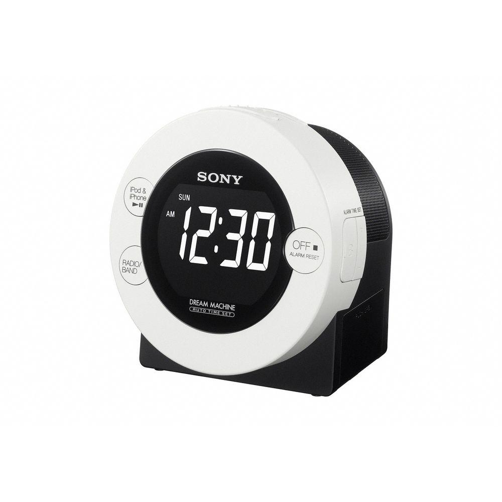 SONY Dual Alarm Clock AM/FM Radio with iPod/iPhone Dock-DISCONTINUED