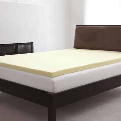 Natural 2 in. Full Memory Foam Mattress Topper