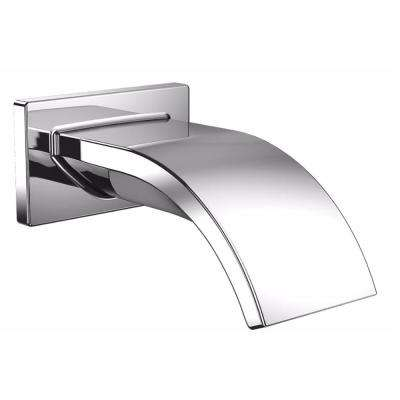 Aimes Wall-Mount Spout in Polished Chrome