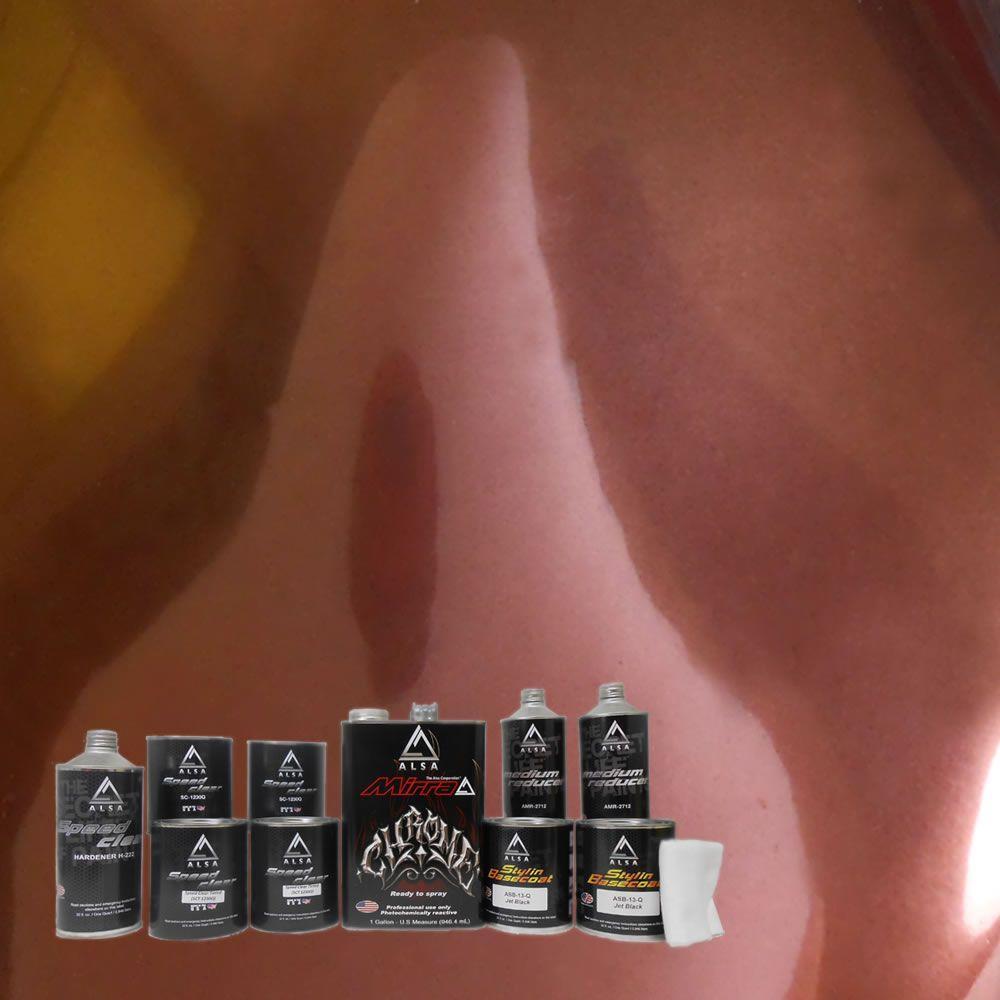 Alsa Refinish MirraChrome 1-gal. Brown Chrome Paint Kit
