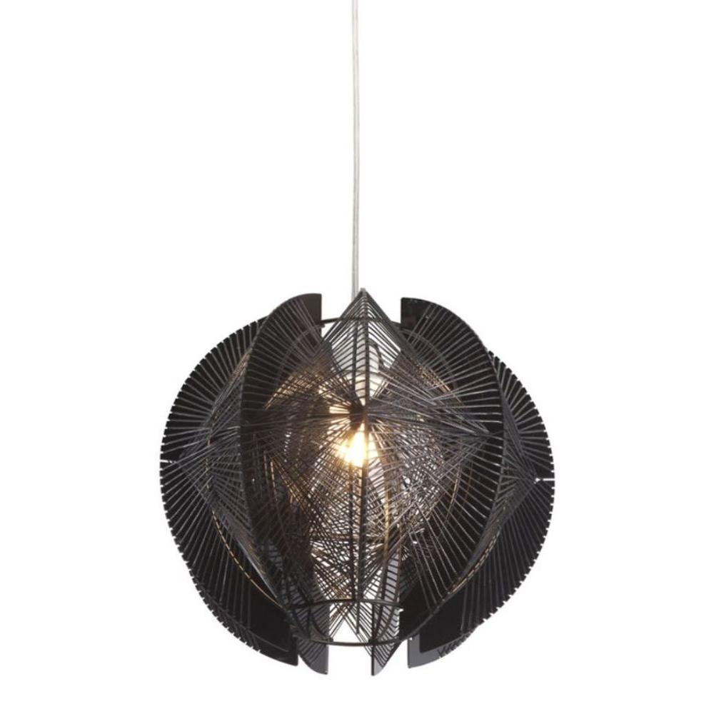 Centari 1-Light Black Ceiling Pendant