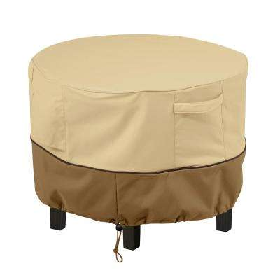 Veranda Round Patio Ottoman/Side Table Cover