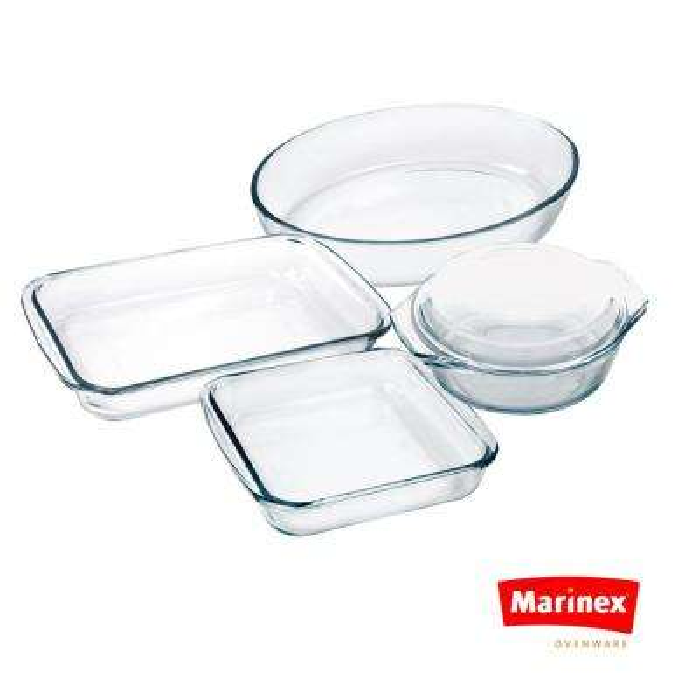 Celebrity 5-Piece Oven/Microwave Bakeware Set