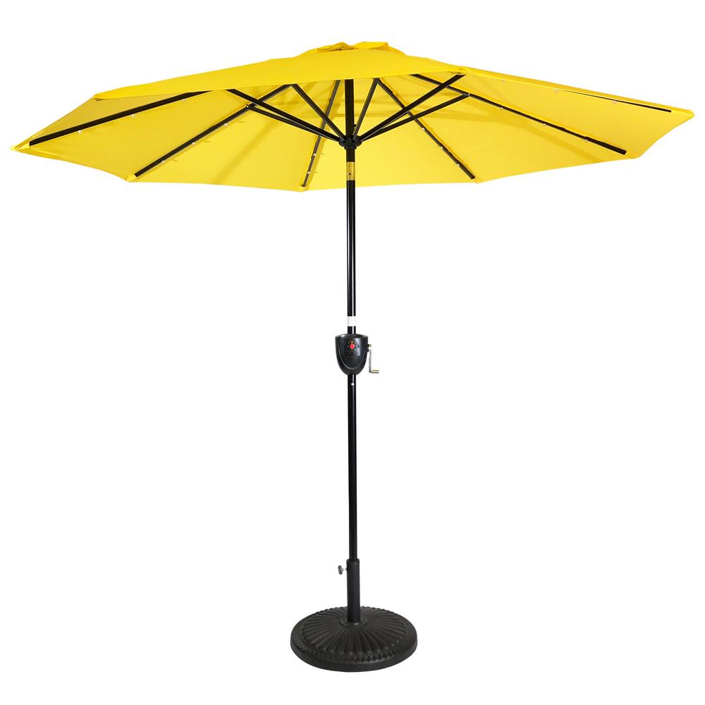 Patio Umbrella With Lights And Speakers