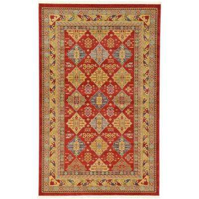 Serapi Red 5 ft. 1 in. x 8 ft. Area Rug