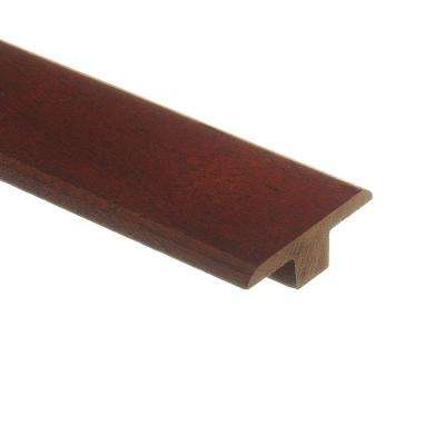 Santos Mahogany 3/8 in. Thick x 1-3/4 in. Wide x 80 in. Length Wood T-Molding