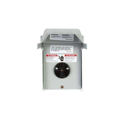 30 Amp Outdoor Enclosed Panel with TT30R Receptacle