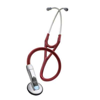3M 3200 Electronic Series Adult Stethoscope in Burgundy