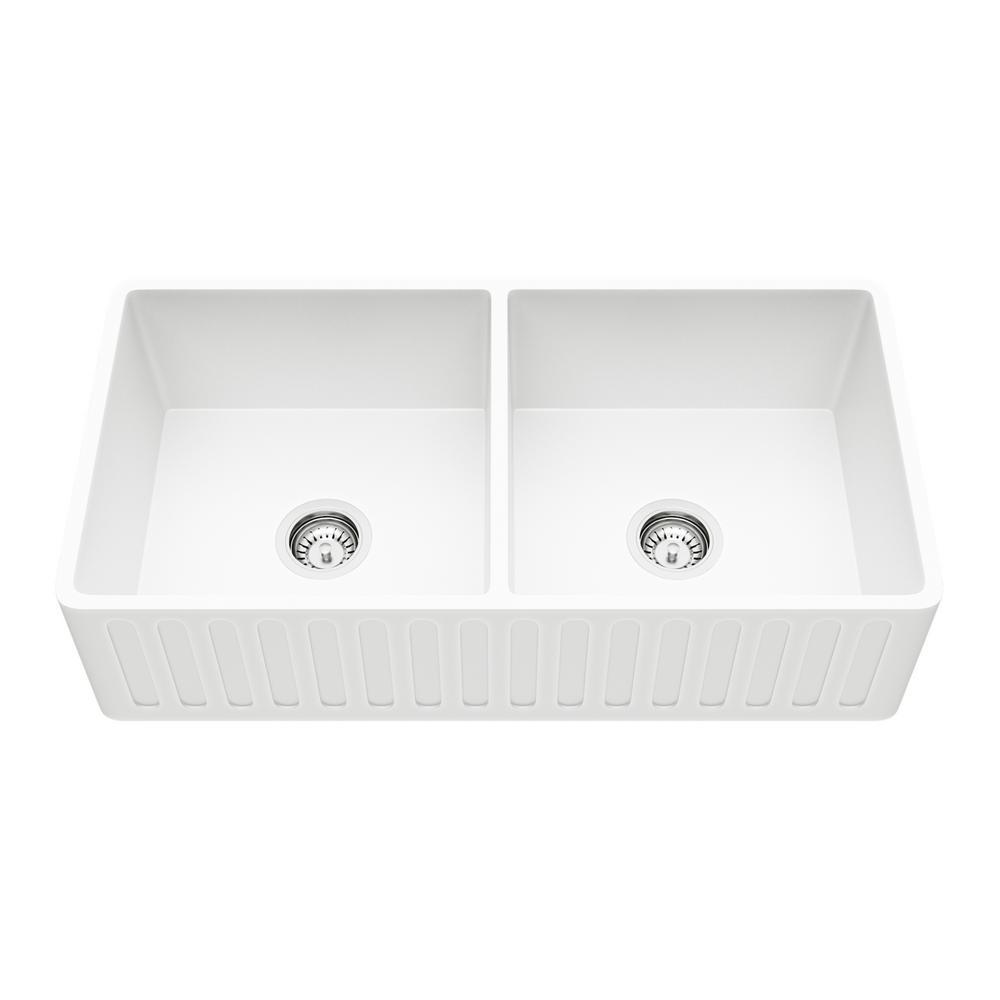 Cast Iron - Kitchen Sinks - Kitchen - The Home Depot